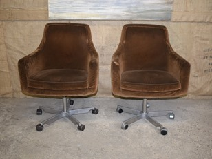 8 Mid Century Chairs