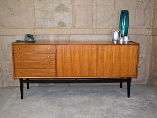 Teak & Walnut Sideboard