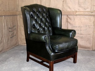 Chesterfield Wing Chair