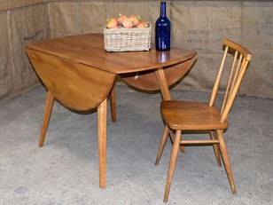 Ercol Light Elm Breakfast Table