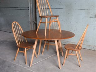 Ercol Light Elm Dining Set